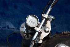 Free Tachometer  Of Motorcycle Stock Photo - 19331710