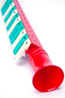 Music Instrument Plastic For Kids Stock Image