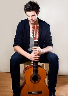 Free Young Musician Stock Photography - 19332682