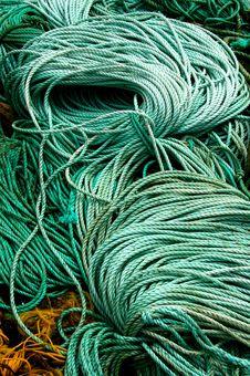 Fisherman S Rope Stock Image