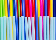 Free Plastic Tube Variety Of Colors. Royalty Free Stock Image - 19332896