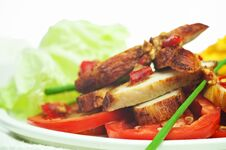 Free Thai Spicy Chicken Royalty Free Stock Photography - 19333767