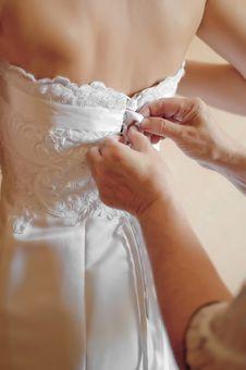 Free Wedding Dress Royalty Free Stock Image - 19333816