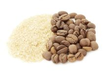 Free Sugar And  Coffee Beans Stock Photos - 19334283