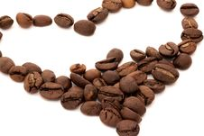 Free Heart Of Coffee Beans Stock Photos - 19334293
