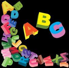 Free ABC Stock Image - 19334331