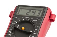 Digital Multimeter Stock Image