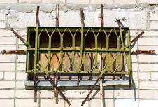 Free Lattice On Window Stock Photography - 19335452