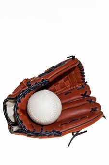 Free Baseball Glove And Ball Stock Photos - 19335513