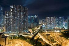 Modern Building In Hong Kong Royalty Free Stock Image