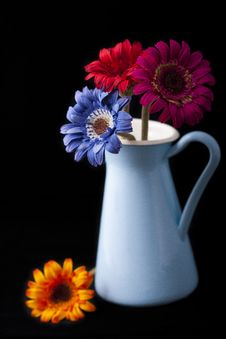 Free Vase And Flowers Royalty Free Stock Photo - 19336195