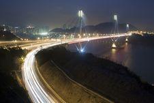 Free Ting Kau Bridge In Hong Kong Stock Photos - 19336243