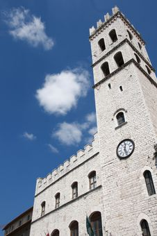 Free Ancient Tower In Assisi Stock Photography - 19336452