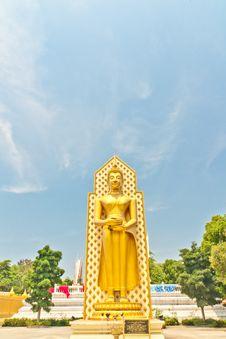 Free Big Buddha Statue Stock Image - 19337111