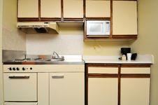 Free Generic Kitchen Layout Stock Image - 19337131