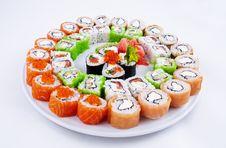 Free Sushi Stock Photography - 19337392
