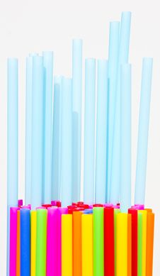 Free Plastic Tube Variety Of Colors. Stock Photography - 19337422