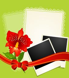 Free Photo Frames With Flowers Stock Photography - 19337532