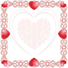 Free Hearts Love Background Stock Photo - 19338910