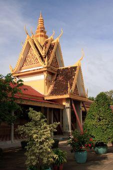 Free Royal Palace Complex, Phnom Penh Stock Image - 19339131