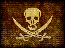 Free Skull With Swords Royalty Free Stock Image - 19339166