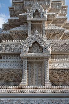 Free Buddhist Monument, Cambodia Royalty Free Stock Images - 19339209