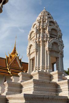 Free Royal Palace Cambodia Stock Photography - 19339272