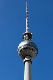 Free Berlin Television Tower Stock Photo - 19339290