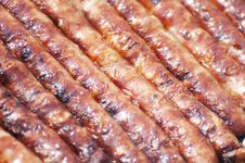 Free Sausages Background Stock Images - 19339434