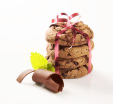 Free Chocolate Cookies Stock Photo - 19339670
