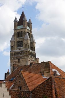 Free St. Salvador Church In Bruges. Royalty Free Stock Image - 19339676
