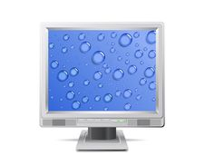 Free Monitor. Royalty Free Stock Images - 19339909