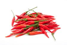 Free Red Chili Peppers Stock Image - 19339951