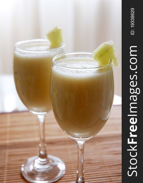 Honey dew juice