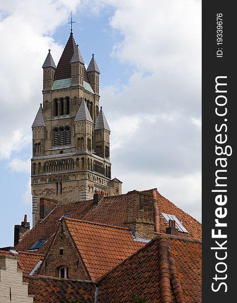 St. Salvador Church in Bruges.