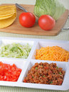 Free Taco Ingredients Royalty Free Stock Photography - 19340137