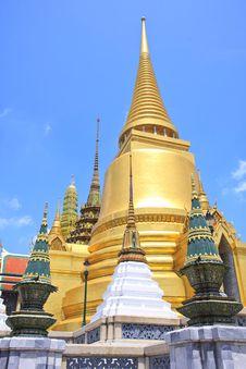 Free Wat Phrakeaw, Bangkok, Thailand Royalty Free Stock Images - 19340269