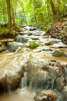 Free Small Waterfall Stock Image - 19341031