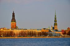 Free Riga Old City Royalty Free Stock Photos - 19341488