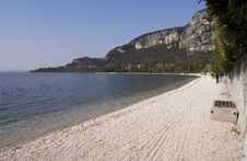 Landscape In Garda Stock Photography