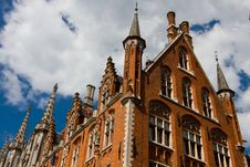 Free Post Office Building In Brugge. Royalty Free Stock Images - 19341869