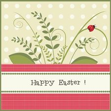 Free Easter Card Royalty Free Stock Image - 19341936