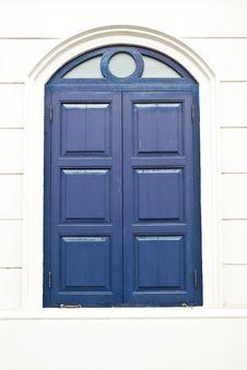 Free Window Blue Royalty Free Stock Photos - 19342278
