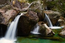 Free Mountain Little River Royalty Free Stock Image - 19342296