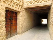 Free Tunnel In The Medina Stock Images - 19342404