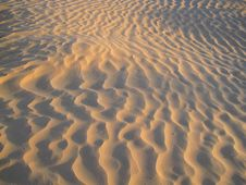 Free Sand Patterns In The Desert Stock Photos - 19342623