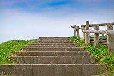 Free Stairway And Sky Stock Photos - 19343753