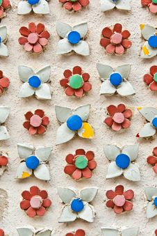 Free Flower Tiles Background Texture Royalty Free Stock Photography - 19344647