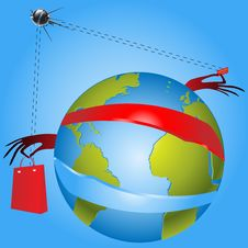 Global Concept Communications Stock Images