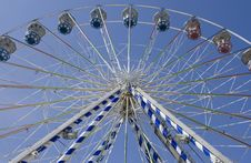 Free Under Ferris Wheel Stock Photography - 19346402